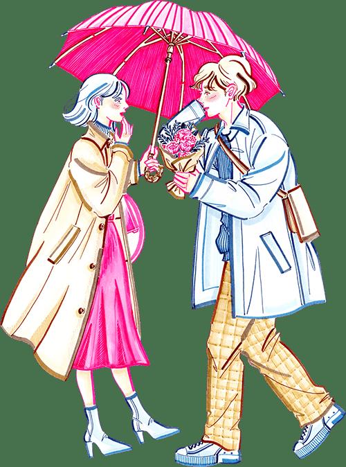フラワー バレンタイン